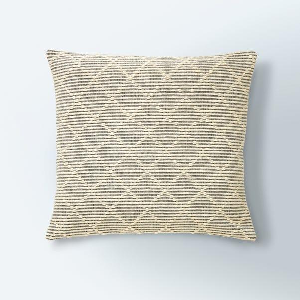 Tufted Diamond Cushion Cover Natural
