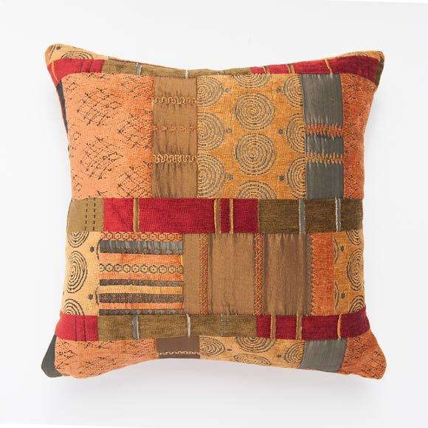 Prague Cushion Cover Terracotta (Orange) undefined