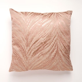 Marble Shimmer Blush Cushion Cover