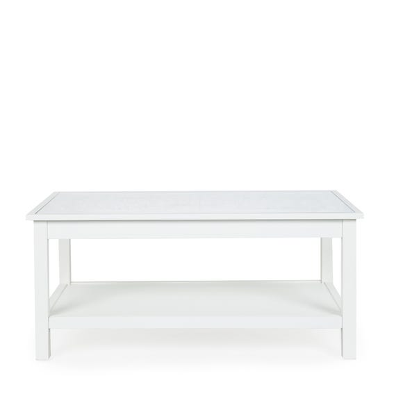 Samira Coffee Table White
