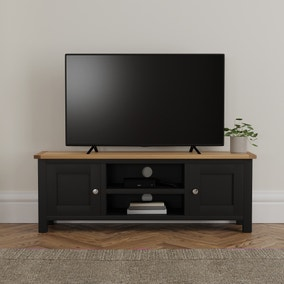 Bromley Black Wide TV Stand