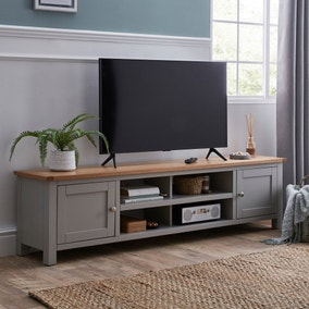 Bromley Grey Extra Wide TV Stand