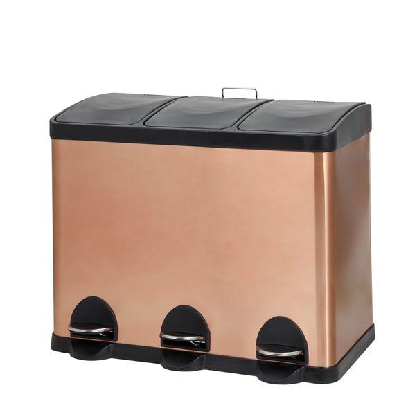 Copper 45L Recycling Bin