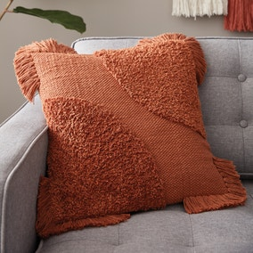 Retreat Tufted Semi Circle Butterscotch Cushion