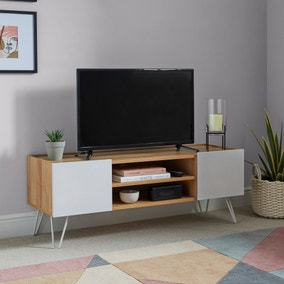 Penelope Dove Grey TV Stand