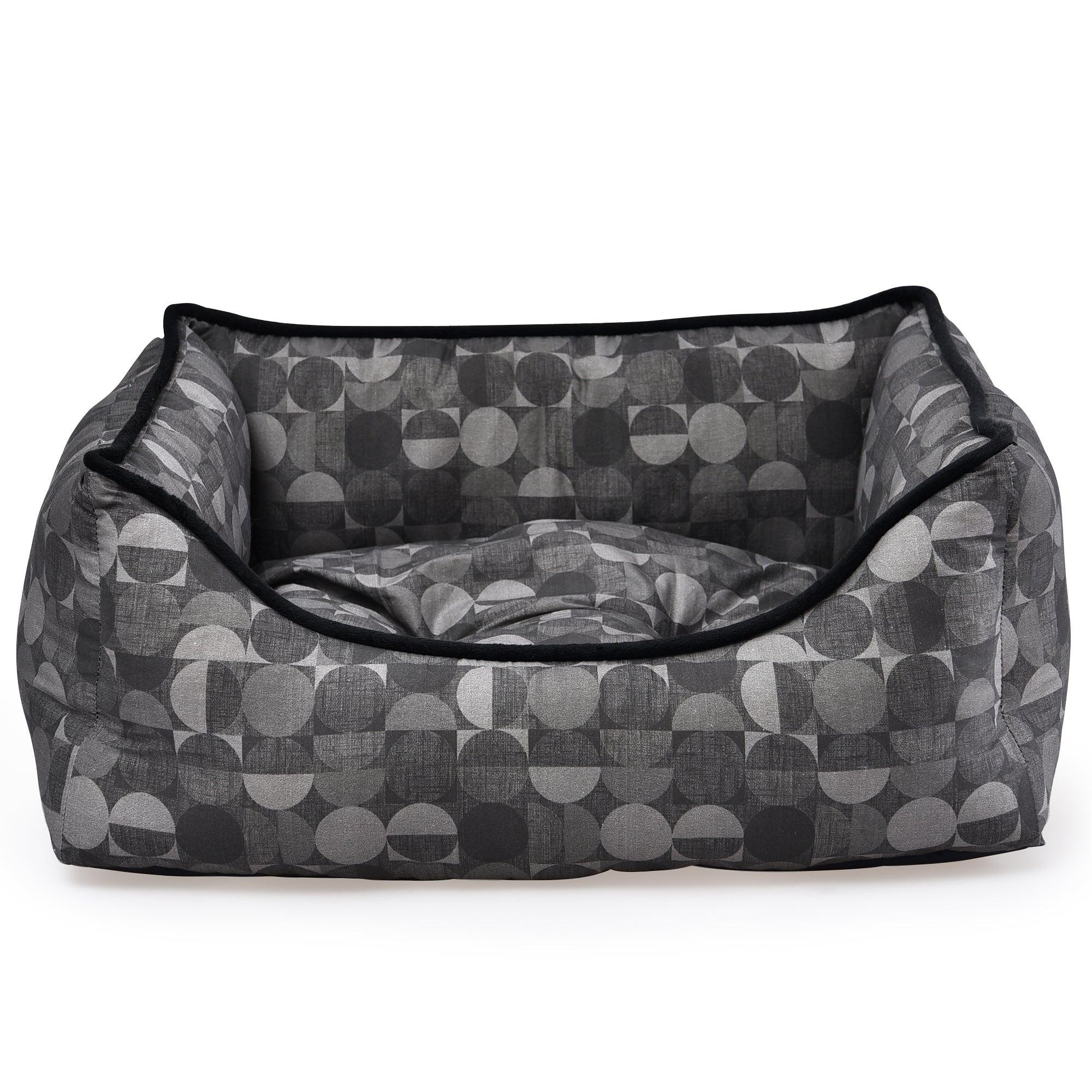 Oscar Square Dog Bed MultiColoured