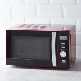 Spectrum 20L 700W Red Microwave