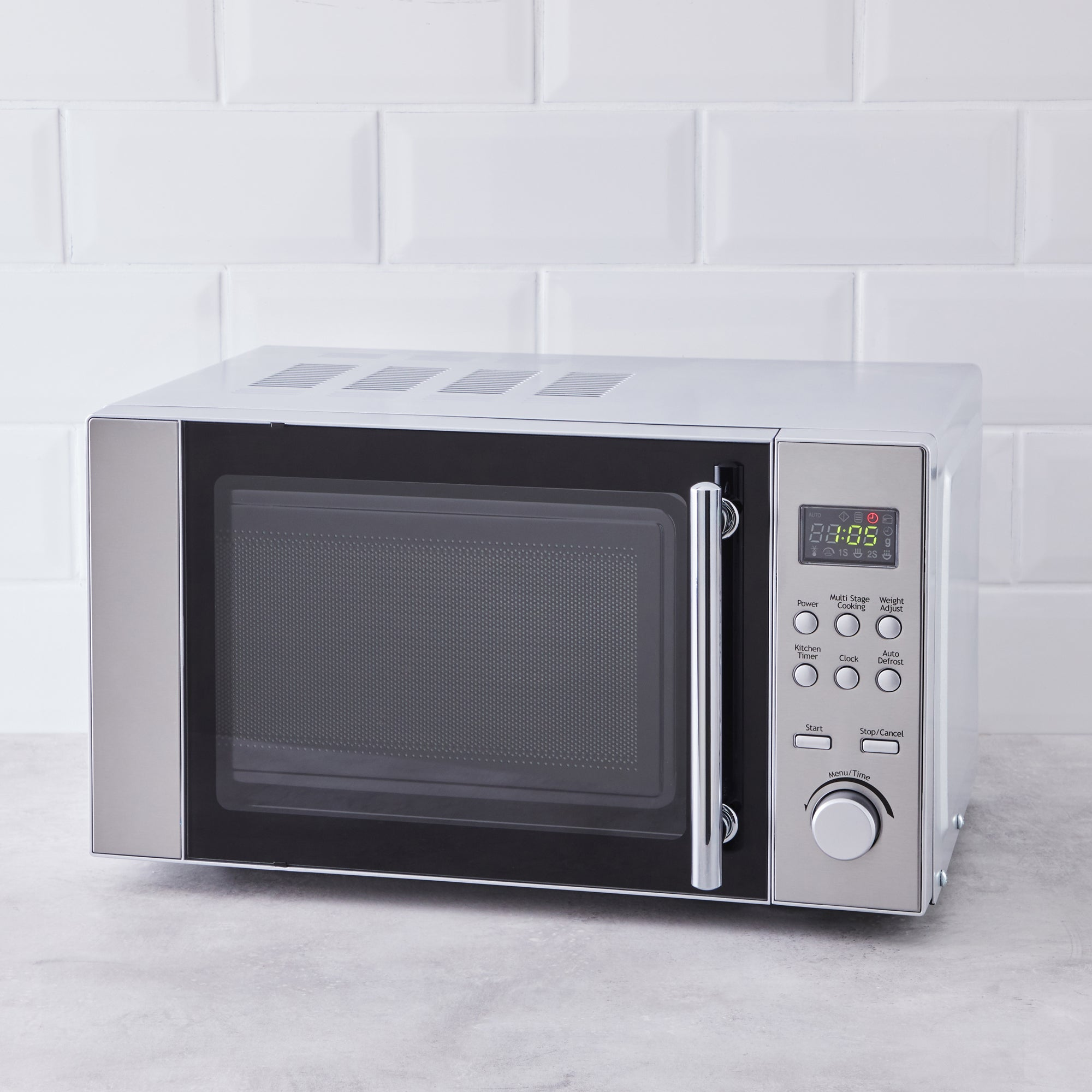 Click to view product details and reviews for Dunelm 20l 700w Stainless Steel Microwave Silver.