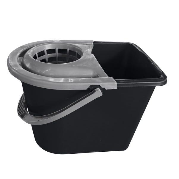 Dunelm Mop Bucket Black