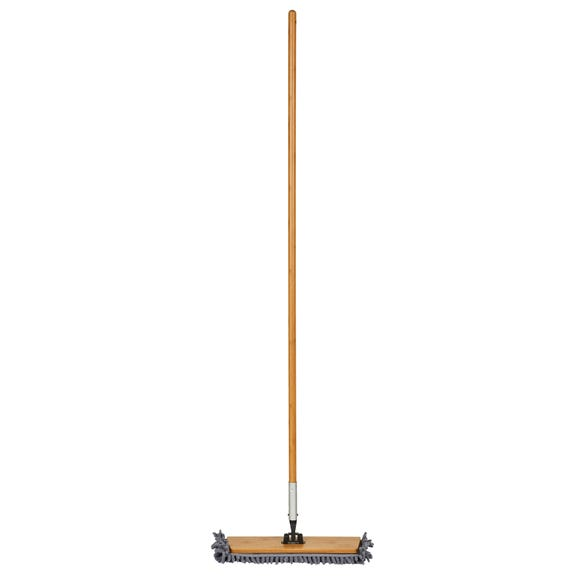 Bamboo Chenille and Microfibre Mop Natural