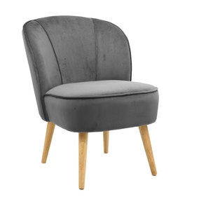 Elsie Cocktail Chair - Grey