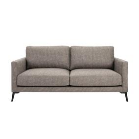 Frey PU Leather 2 Seater Sofa - Grey