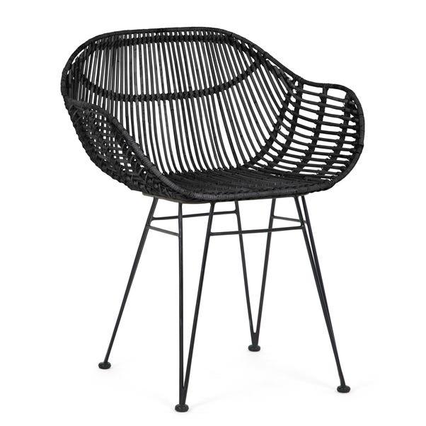 Samara Accent Chair - Black