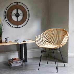 Samara Accent Chair - Natural