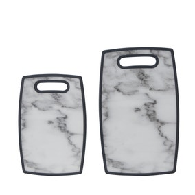 Dunelm Set of 2 Marble Chopping Boards