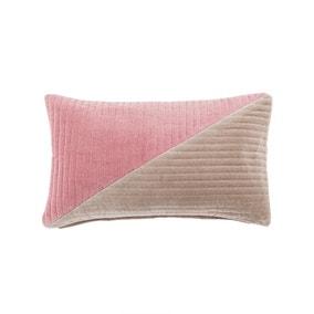 Quilted Clara Blush Cushion