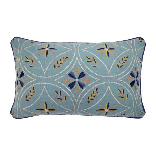 Harewood Cushion Blue