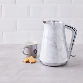 White Marble 1.7L Kettle