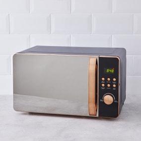 Accents 20L 700W Black Microwave
