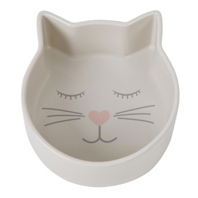 Cat Shaped Pet Bowl