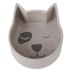 Dog Shaped Pet Bowl