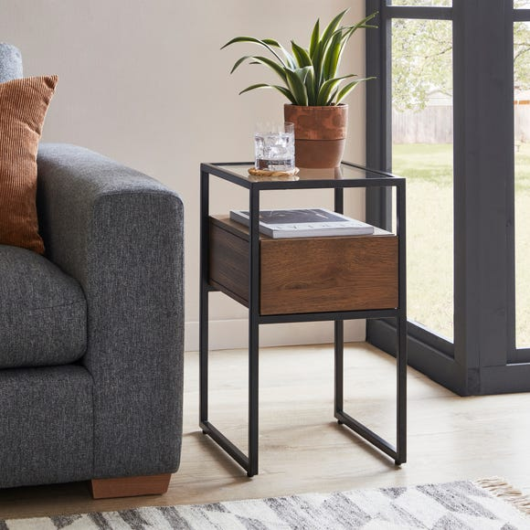 Dillon Side Table Oak Oak (Brown)