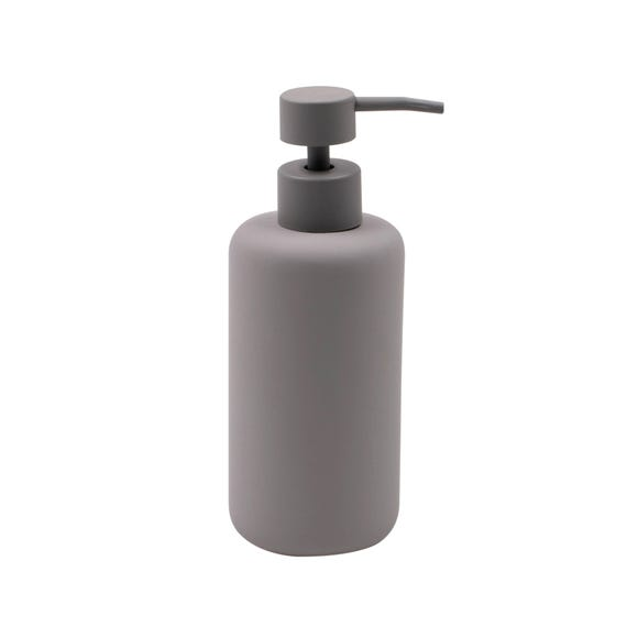 Elements Soft Touch Grey Lotion Dispenser Grey