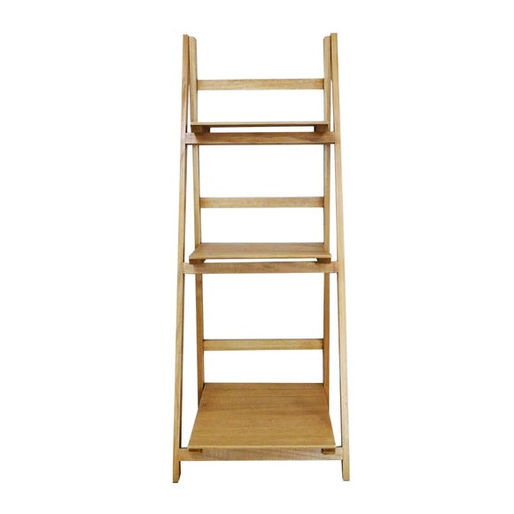 Small Wooden Ladder Brown