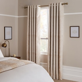 Dorma Purity Corinthia Blackout Eyelet Curtains