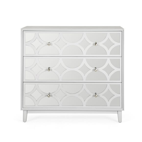 Delphi Chest of Drawers Grey