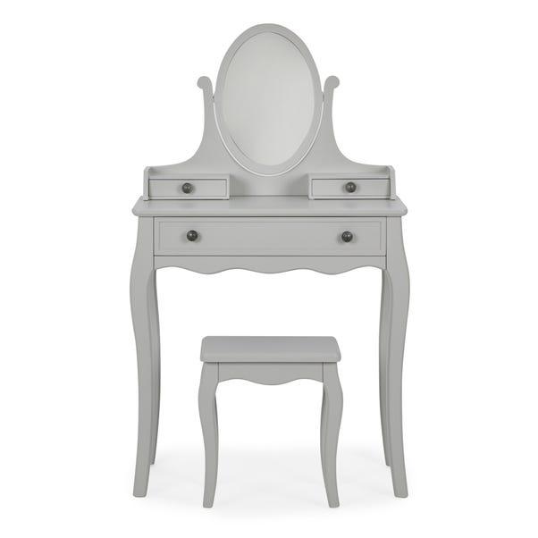 Clara Dressing Table Set Grey