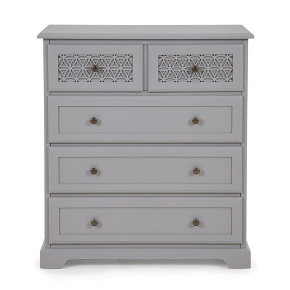 Carys 5 Drawer Chest Grey