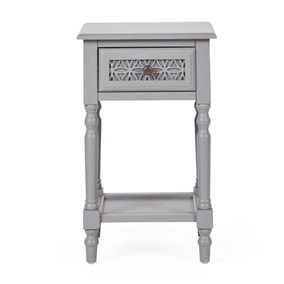 Carys 1 Drawer Bedside Table