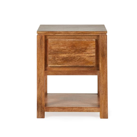 Harlam Side Table Oak (Brown)