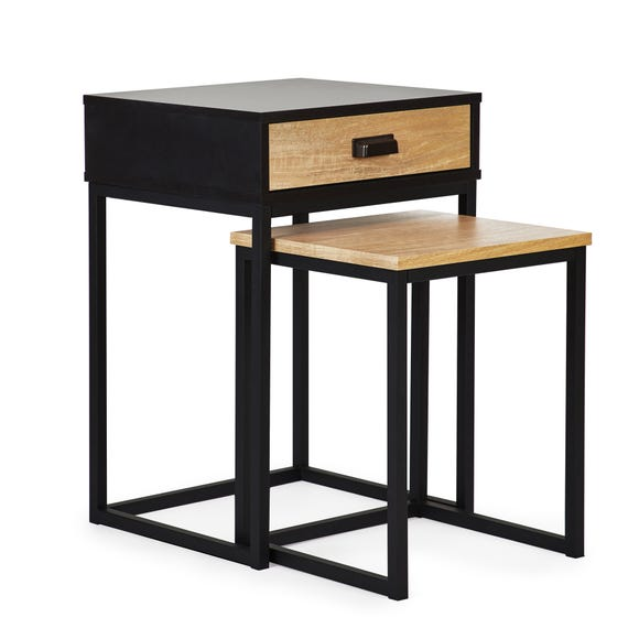 Greenwich Storage Nest of Tables Black