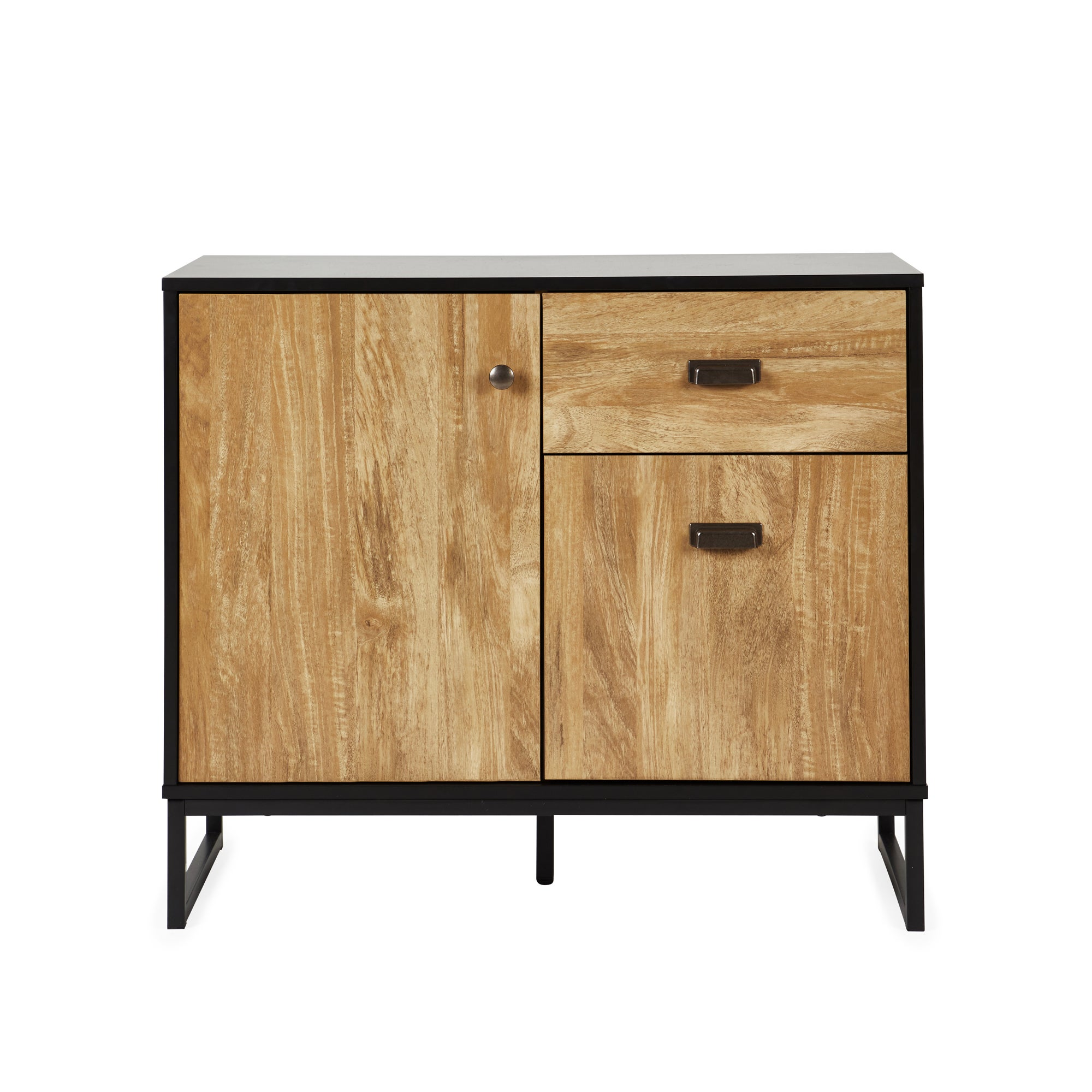 Greenwich Small Sideboard Black and Brown