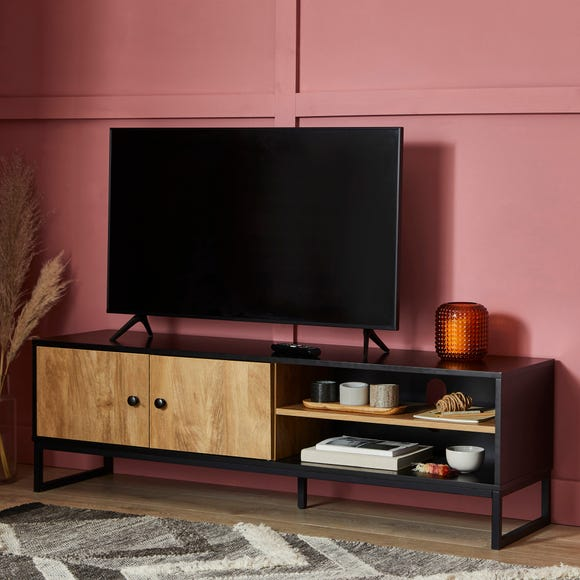 Greenwich Wide TV Stand Black