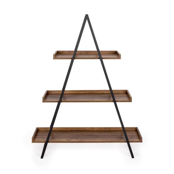 Fulton A-Frame Shelf Pine (Brown)