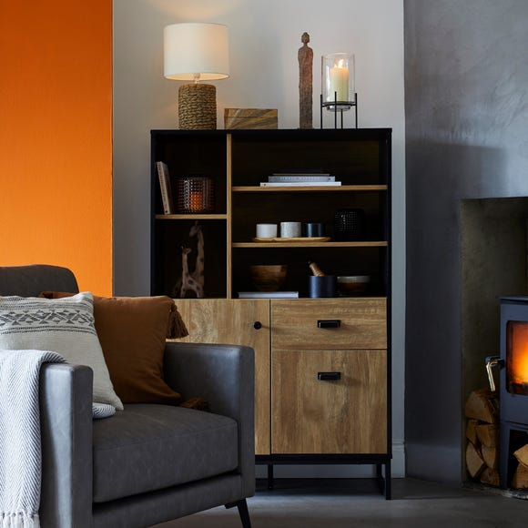 Greenwich Tall Cabinet Black