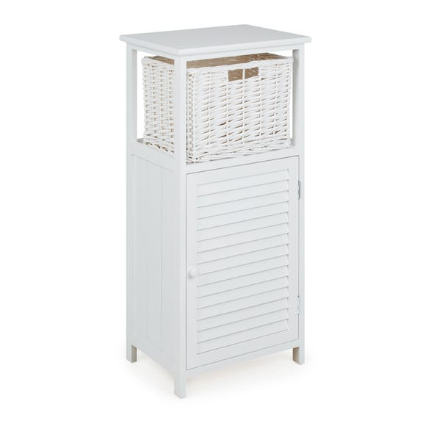 White Storage Unit White