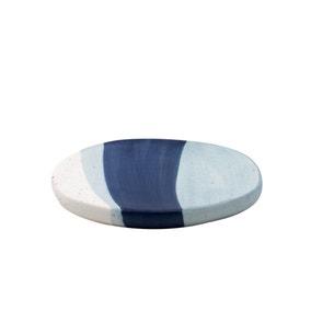 Nautical Dipped Ceramic Soap Dish
