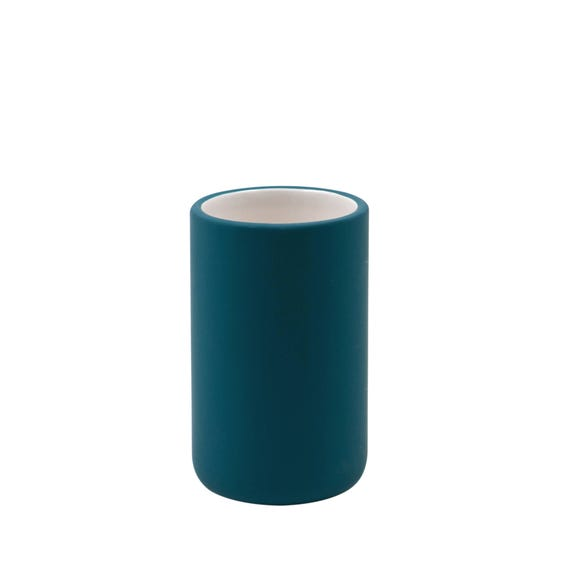 Elements Soft Touch Matt Teal Tumbler Blue