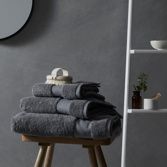 Hotel Bamboo Charcoal Towel Charcoal undefined