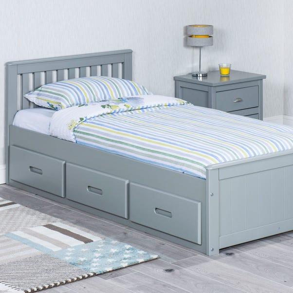 Mission Grey Storage Bed  undefined