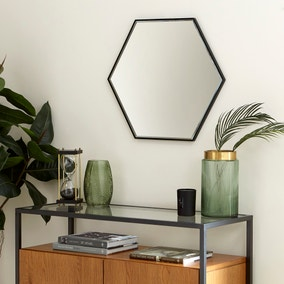 Apartment Hexagon Mirror 60cm