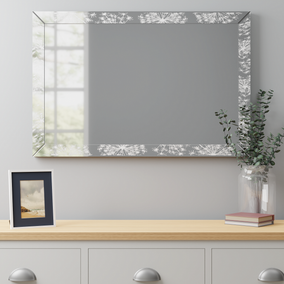 Cow Parsley Over Mantle Mirror 60x90cm