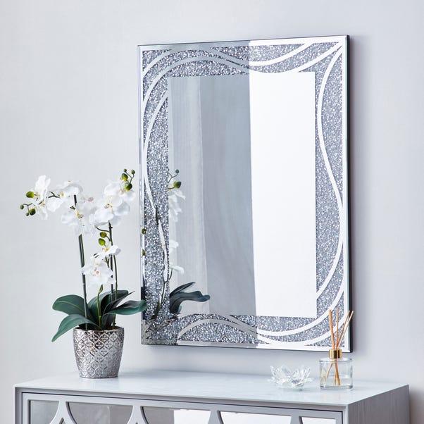 Mirage Mirror 80x60cm Silver