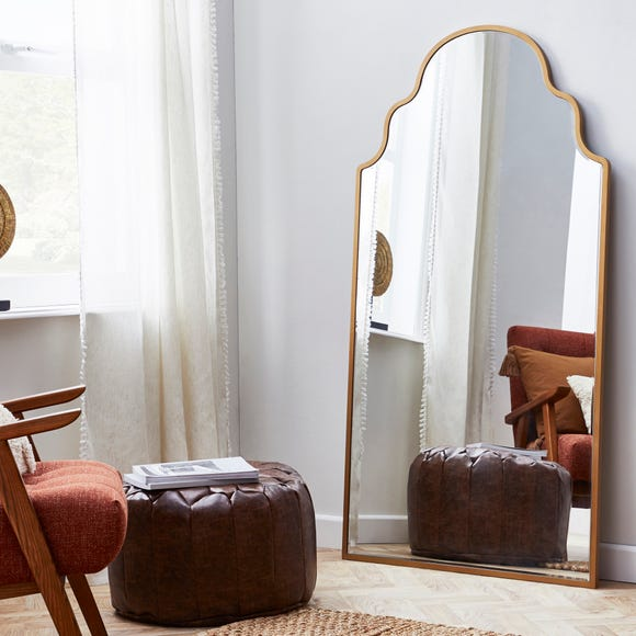 Moroccan Leaner Mirror 80x150cm Gold undefined