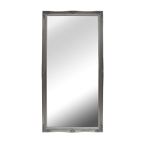 Silver Swept Large Leaner Mirror Dunelm, Large Leaner Mirrors
