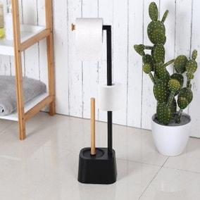 Comapct Living Bamboo Toilet Butler